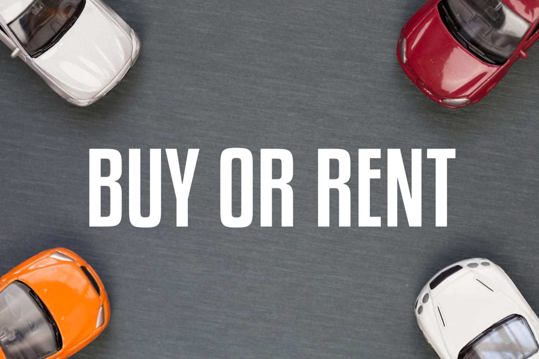 buying vs leasing vs renting a car
