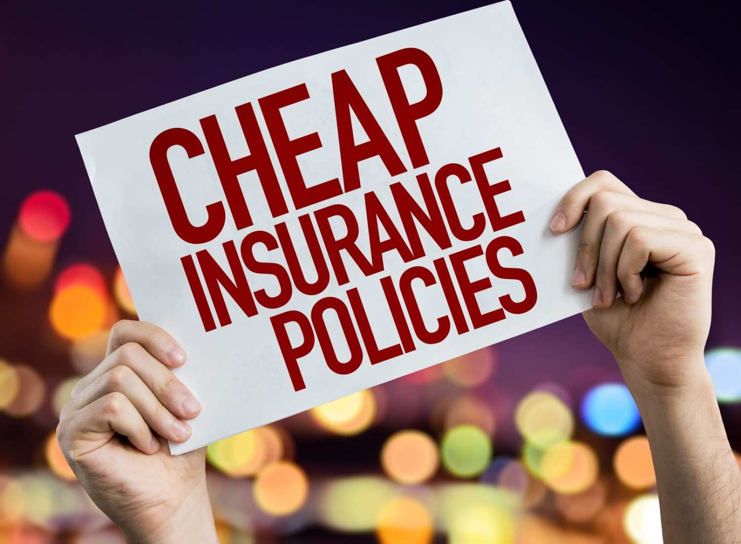 cheap car insurance policies