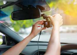 dashboard camera in your car