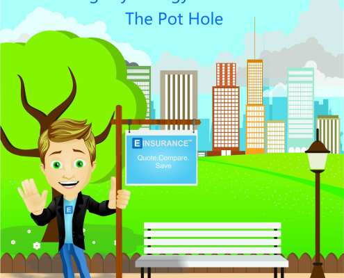 driving psychology and insurance the pot hole