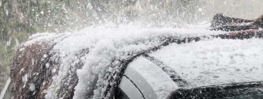 hail damage and car insurance claims