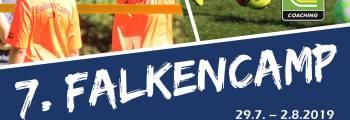 7. Falkencamp Anmeldung jetzt