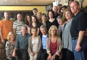 The Dodge Family at Ed's Surprise Birthday Celebration