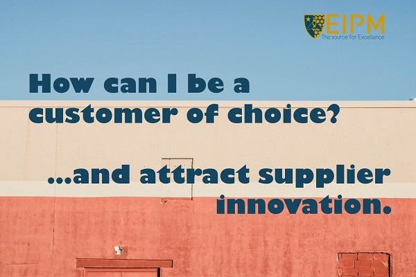 SlideShare cover: How to Attract Supplier Innovation