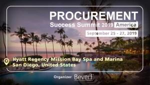 Procurement Success Summit 2019 - America