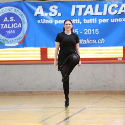 A. S. Italica Cup Auftritt