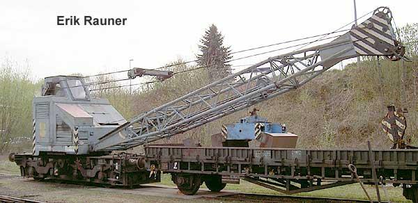 Kranwagen Kirow 20 T Edk 80