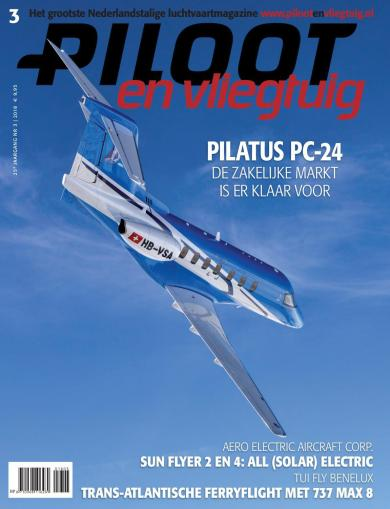 Cover Piloot en Vliegtuig Editie 3-2018