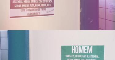 Banheiro unissex: um atentado contra as mulheres