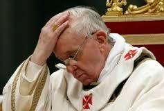 """Papa afirma que morte de Jesus na cruz foi """"fracasso"""""""
