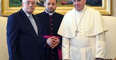 Palestina abrirá embaixada no Vaticano com apoio do papa