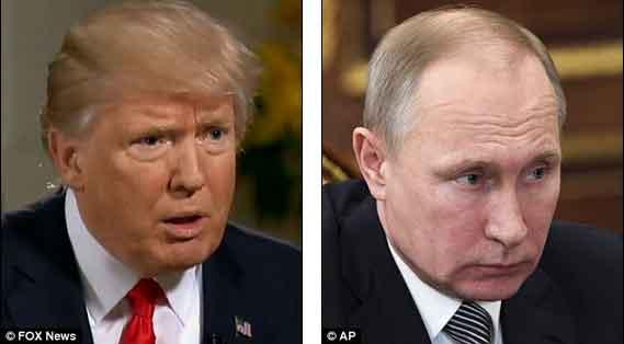 """""""Você acha que os EUA são inocentes?"""" diz Trump"""