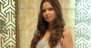 """Milena Toscano diz que atuar em """"O Rico e Lázaro"""" fortaleceu sua fé"""