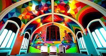 Antigo templo luterano se torna Igreja da Maconha