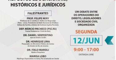 Seminário pró-vida sobre identidade de gênero no Rio de Janeiro