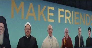 """Líderes de todas as religiões do mundo fazem campanha por """"união"""""""