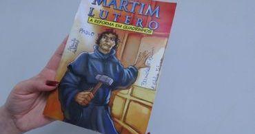 Igreja Luterana cria gibi dos 500 anos da Reforma