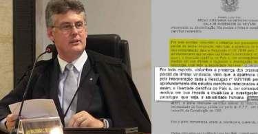 'Em nenhum momento' a homossexualidade foi considerada uma doença, afirma juiz