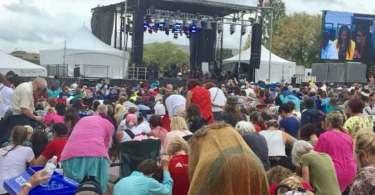 Milhares de cristãos pedem perdão a Deus pelos pecados da nação, nos EUA