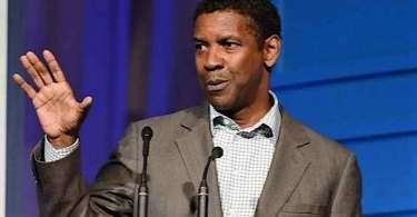 """Denzel Washington incentiva jovens a pregarem o Evangelho: """"Eu oro por esta geração"""""""
