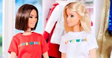 Boneca Barbie é usada para promover o casamento gay
