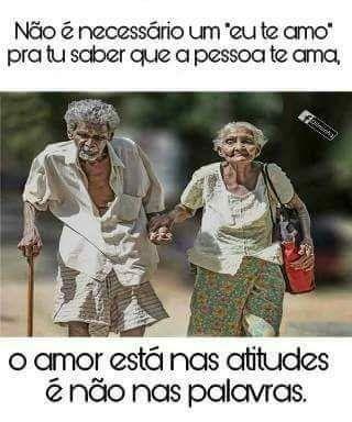 O Amor Está nas Atitudes