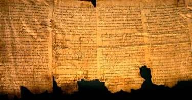 Pesquisadores encontram e decifram mais um fragmento do Pergaminho do Mar Morto, em Israel