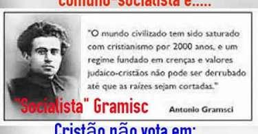 Por que o Socialismo/Comunismo quer destruir o Cristianismo por meio da Esquerda?