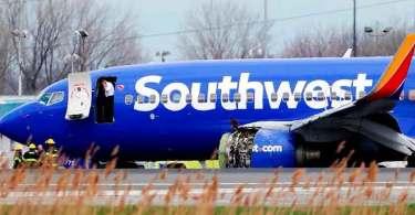 """Passageiros reconhecem milagre em explosão de motor de avião: """"Existe um Deus"""""""