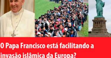 Papa Francisco: Católicos devem tratar a compaixão pelos imigrantes muçulmanos como igual ao ativismo pró-vida