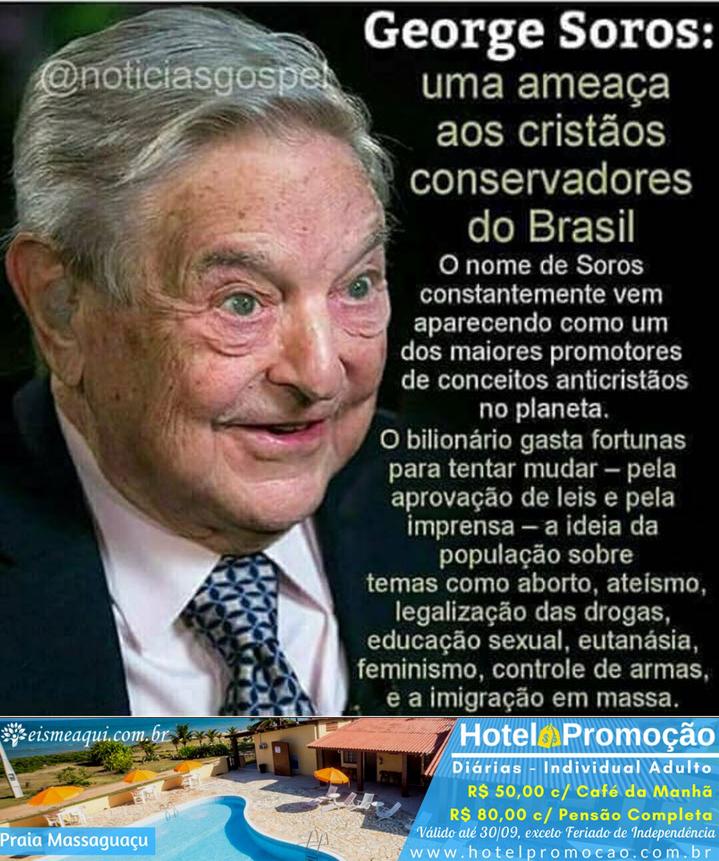 George Soros: uma ameaça.