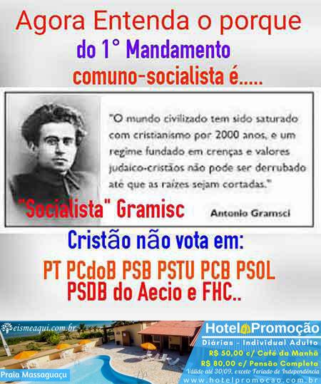 O primeiro mandamento comuno-socialista