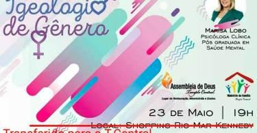 Marisa Lobo participa de Fórum sobre ideologia de gênero, em Fortaleza