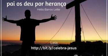 """""""Jesus veio a este mundo para celebrar a volta dos escolhidos..."""""""