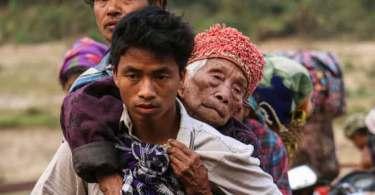 Perseguição religiosa já expulsou mais de 120 mil cristãos de suas casas, em Mianmar