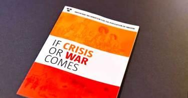 """Governo sueco distribui panfleto """"esteja preparado para a guerra"""" para todas as casas da Suécia"""