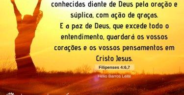 A Paz de Deus Não Nos Deixa Ansiosos