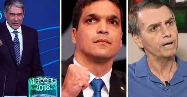 Último debate tem Daciolo vetado, crítica de presidenciáveis e Bolsonaro na Record