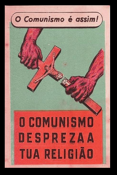 O comunista é assim...