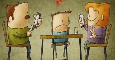 Não deixe o celular substituir sua família!