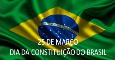 25 de Março - Dia da Constituição