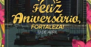Feliz Aniversário, Fortaleza!