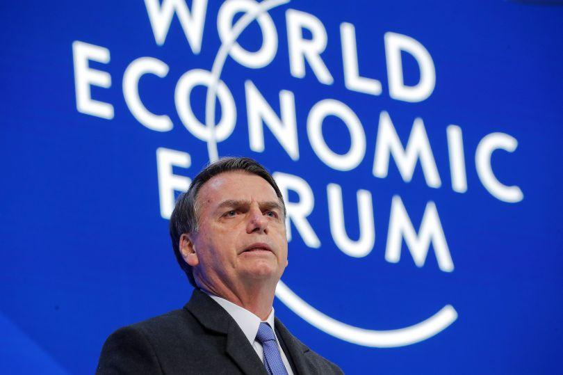 """Bolsonaro cita """"Deus"""" em discurso no Fórum Econômico Mundial, na Suíça"""