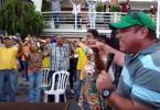 Evangélicos venezuelanos oram pela paz em meio a protestos massivos contra Maduro