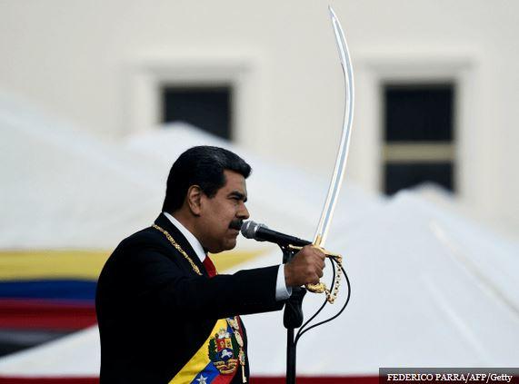 Papa enviou representante para a posse do ditador Maduro da Venezuela