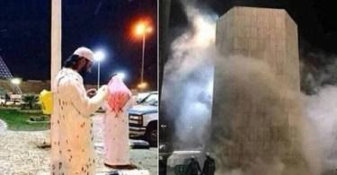 Local sagrado do Islã, Mesquita de Meca sofre ataque de 30 mil gafanhotos