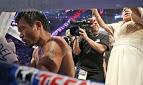 """Nos bastidores do boxe, Manny Pacquiao faz estudo bíblico: """"Minha força vem de Deus"""""""