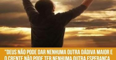 A salvação final pelo Evangelho de Jesus Cristo é a motivação!