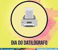 24 de maio - Dia do Datilógrafo