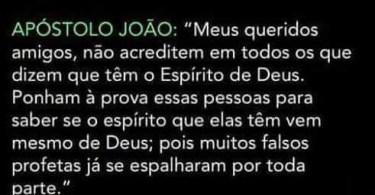 1 João 4:1